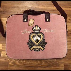 Juicy Couture Computer/Messenger Bag NWT